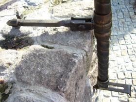 091uchwyt balustrady z łańcycha
